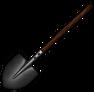 Стальная лопата