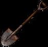 Ржавая лопата