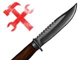Кованый нож
