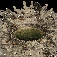 Кратер (грязная вода) (до 630)