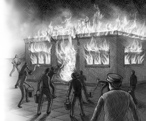 Игра с огнём (квест)