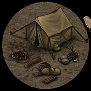 Лагерь (палатка)