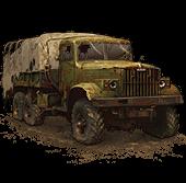 Сломанный КрАЗ-255