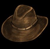 Кожаная шляпа (старая)