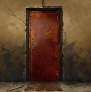 Железная дверь (671)