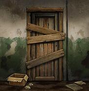 Заколоченная дверь (671)