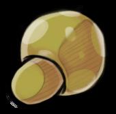 Жёлтый гриб (старый)