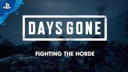 Days Gone - Fighting the Horde - PS4