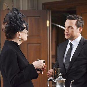 Stefan and Vivian talk before Andre's funeral.jpg