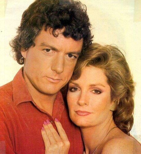 Roman Brady and Marlena Evans