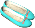Ballerina Shoes Blue.png