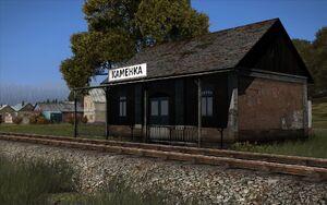 An example: the Kamenka train station