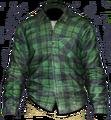 Green Check Shirt.png