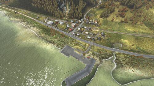 Aerial shot of Solnichniy