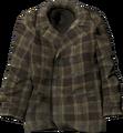 Brown check wool coat.png