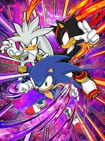 Prelude To The Final Battle Sonic Shadow Silver Db Dokfanbattle Wiki Fandom