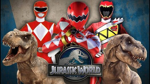 Power Rangers vs Jurassic World
