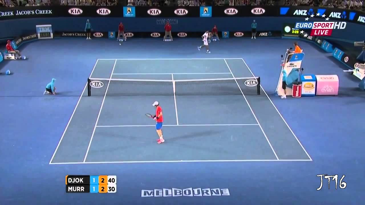 Djokovic VS Murray -- Australian Open Final [Highlights HD]