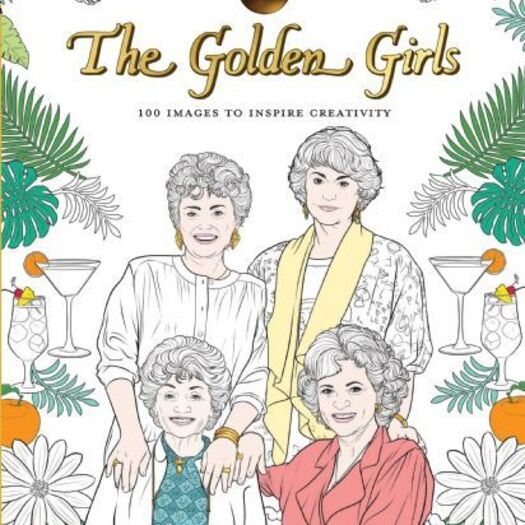 Art of Coloring: Golden Girls | Disney Books | Disney Publishing Worldwide