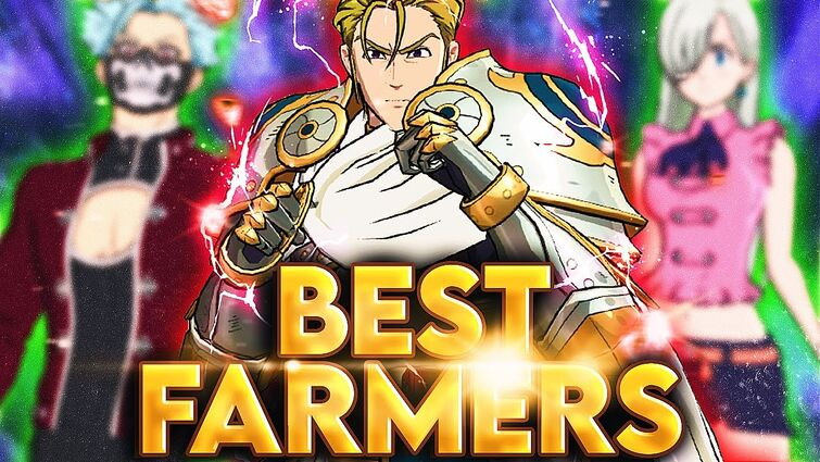 THIS is the BEST Global farm team + Best Heros for Farming!   Seven Deadly Sins: Grand Cross