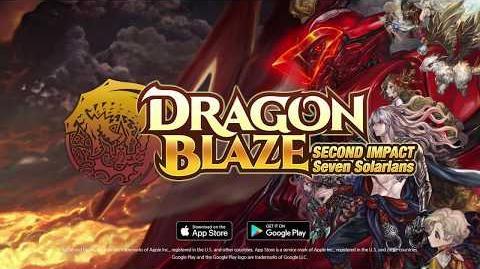 Dragon Blaze Second Impact Seven Solaris Trailer EN