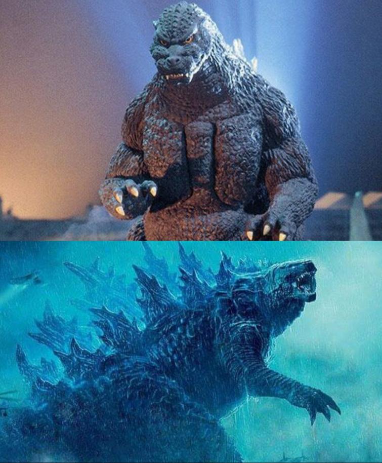 Godzilla (Heisei) VS Godzilla (Legendary)