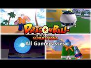 DBOG (Dragon Ball Online Generations) - All Gamepasses Showcase