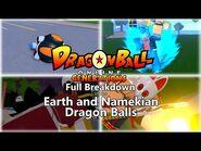 DBOG (Dragon Ball Online Generations) - Earth and Namekian Dragon Ball Breakdown + Locations