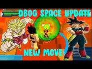 SONNY SHOWS SPACE MAP AND NEW MOVES l Dragon Ball Online Generations