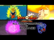 DBOG (Dragon Ball Online Generations) - All Transformations for All Races