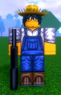 FARMER WITH SHOTGUN