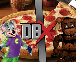 Chuck e cheese Vs Freddy Fazbear