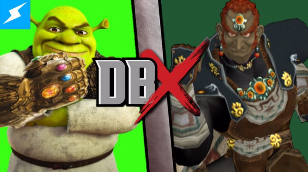 Ganondorf vs Shrek