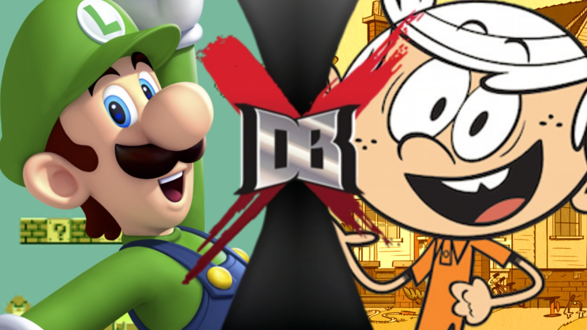 Luigi vs Lincoln Loud