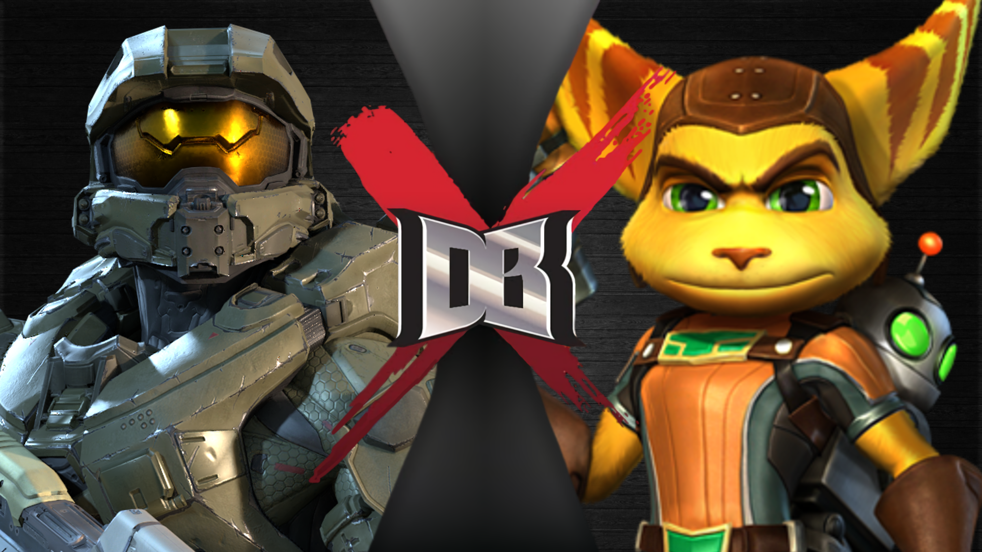 Master Chief vs Rachet and Clank
