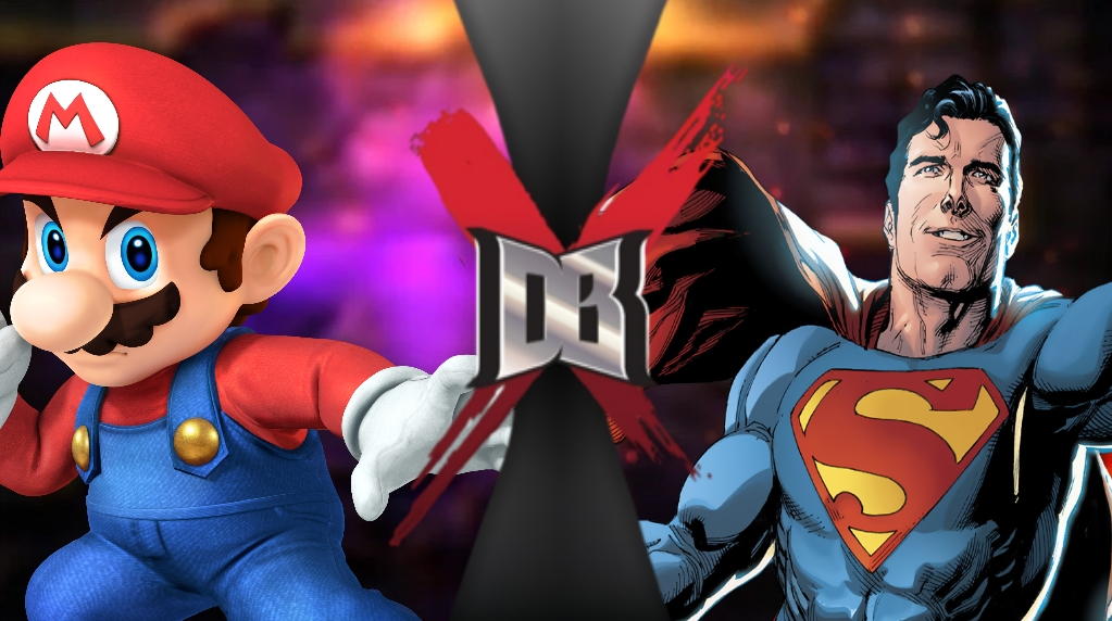Mario VS Superman