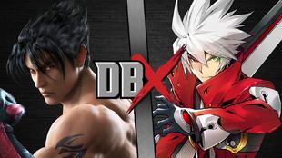 DBX - Jin Kazama VS Ragna The Bloodedge 2