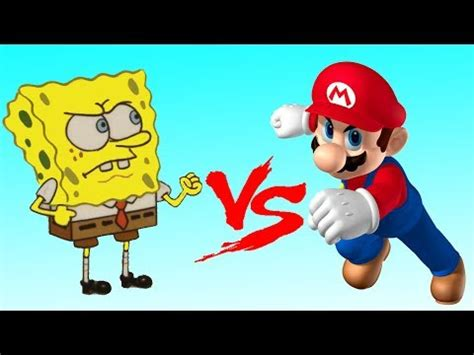 Mario Vs Spongebob