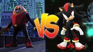 Killer Bean vs Shadow the hedgehog