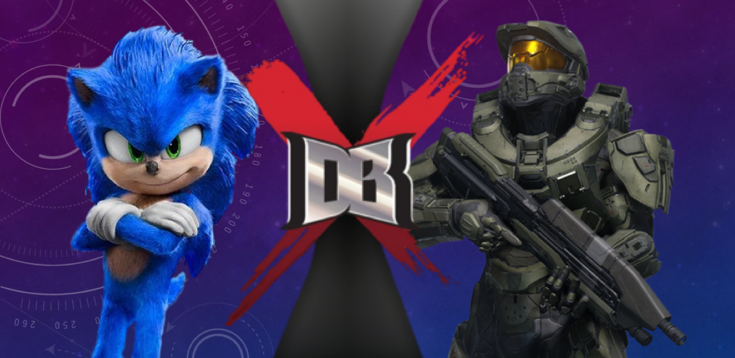 Sonic (Sonic The Hedgehog) Vs Master Chief (Halo)