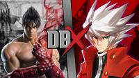 DBX - Jin Kazama VS Ragna The Bloodedge