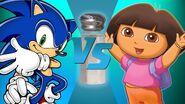 Sonic vs dora