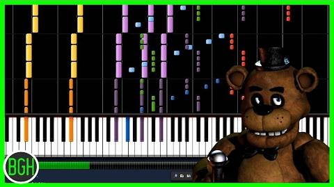 """IMPOSSIBLE REMIX - """"Five Nights at Freddy's Song"""" The Living Tombstone"""