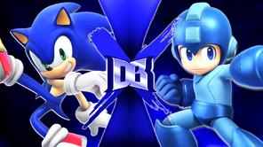 Sonic the Hedgehog vs Mega Man