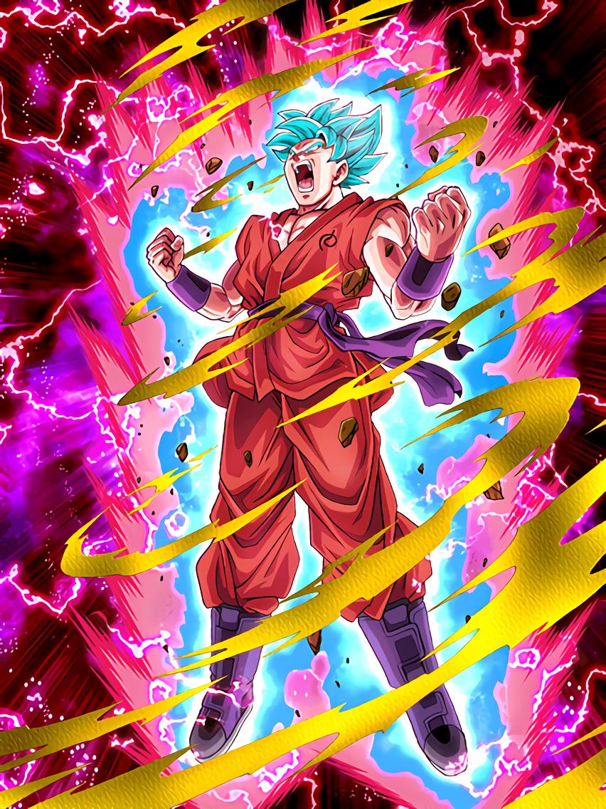 Necessary Evolution Super Saiyan God SS Goku