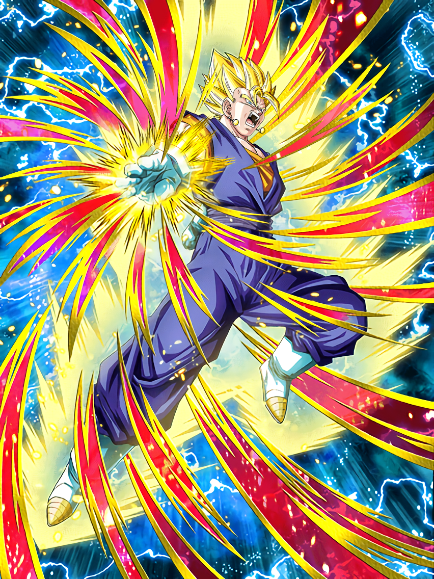 Unparalleled Golden Ki Super Vegito