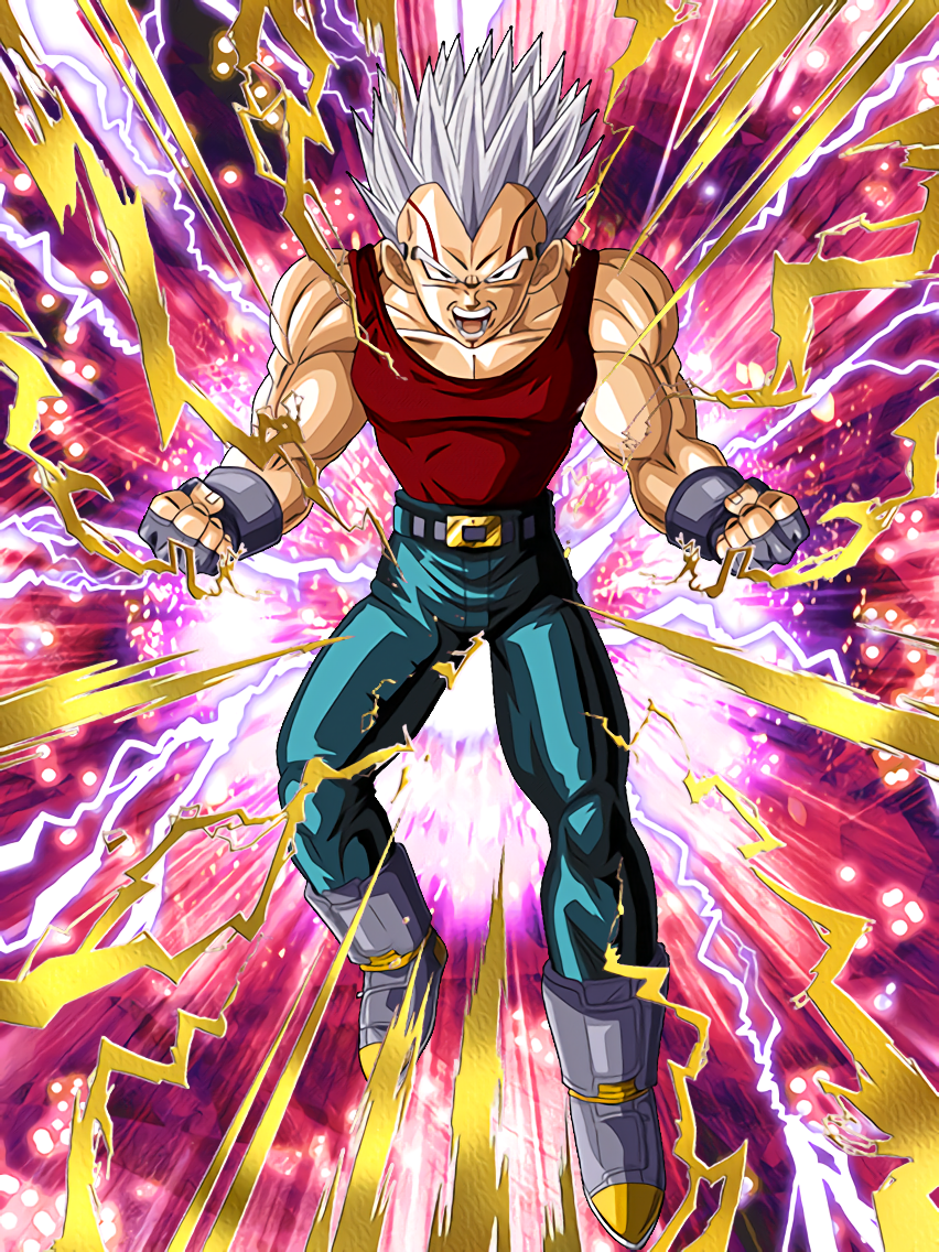 Dreadful Fusion Baby Vegeta