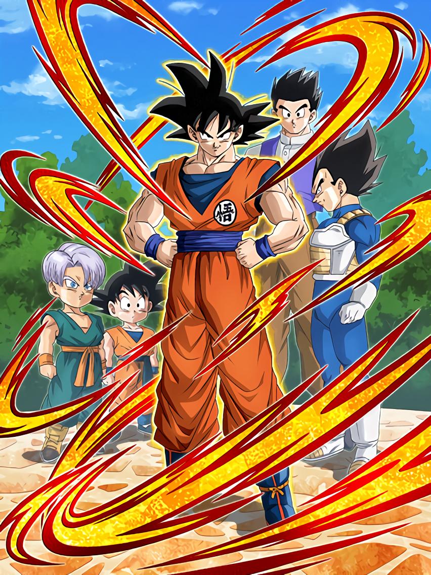 Righteous Hearted Saiyan Goku Dragon Ball Z Dokkan Battle Wiki Fandom