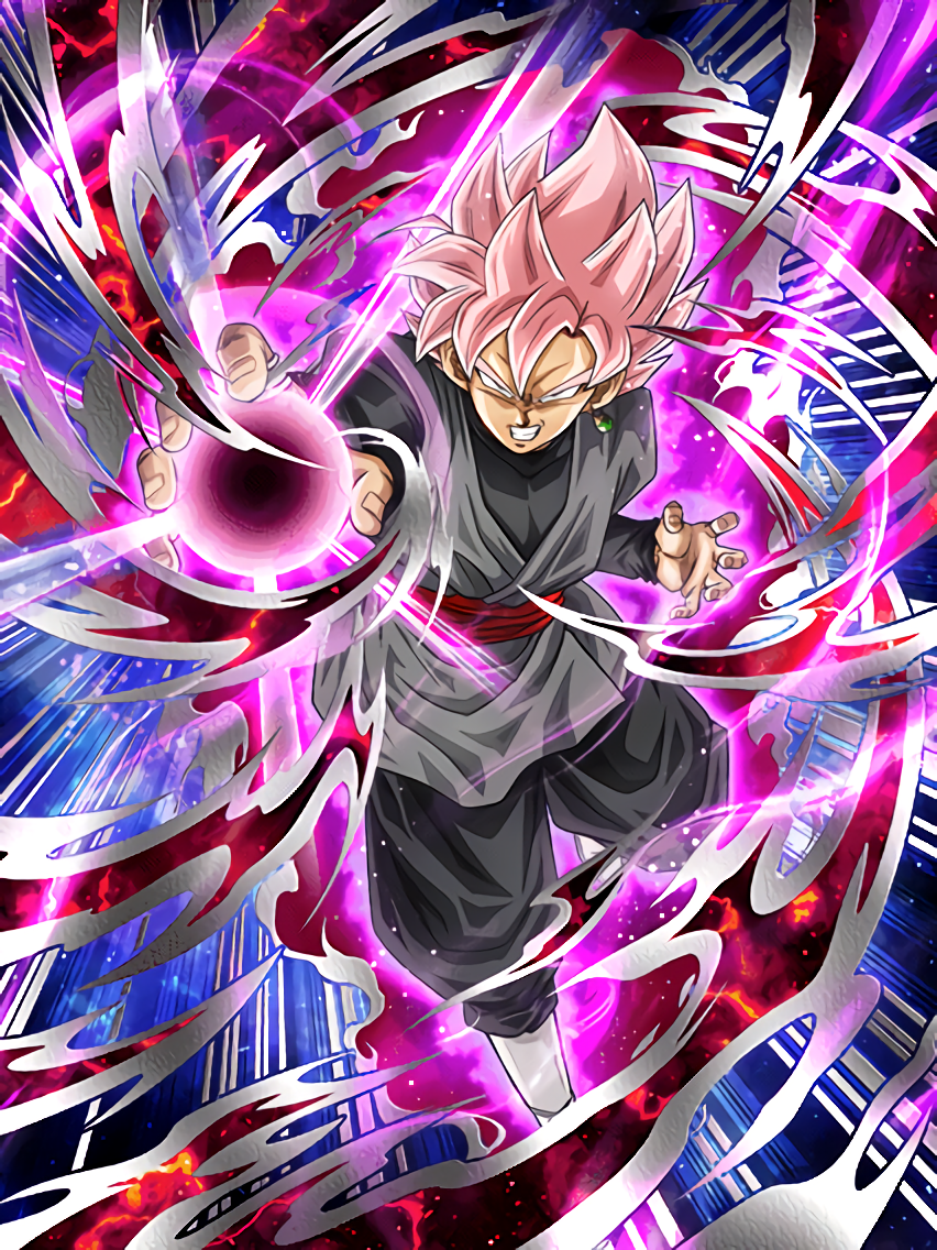 Rose Stained Super Saiyan Goku Black (Super Saiyan Rosé)