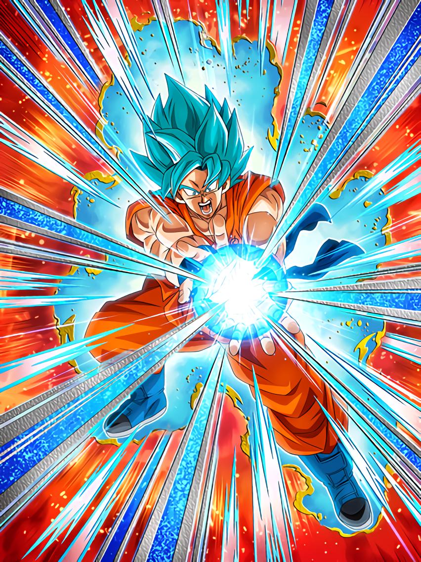 Decisive Kamehameha Super Saiyan God SS Goku